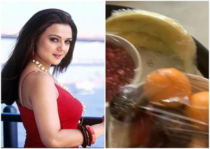 दुबई के होटल में प्रीति जिंटा को मिला ऐसा खाना, बोलीं- थोड़ा अजीब है