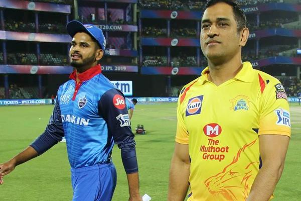 csk vs dc possible playing 11