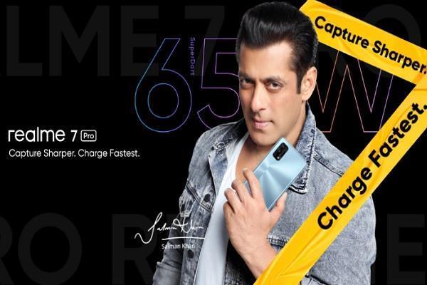 भारत में लॉन्च हुए Realme 7 और Realme 7 Pro, फोन्स की प्रमोशन कर रहे सलमान खान