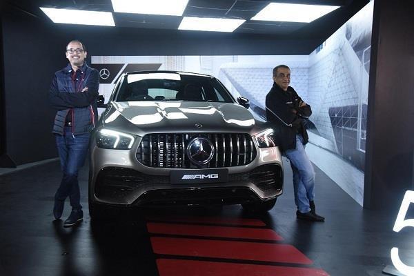 Mercedes ने भारत में लॉन्च की AMG GLE 53 Coupe 4Matic+ लग्जरी कार, कीमत 1.20 करोड़ रुपये