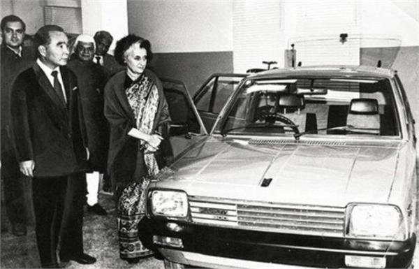 मारुति 800 के पहले ग्राहक ने नहीं बदली जीवन भर अपनी कार, इंदिरा गांधी ने सौंपी थी चाबी