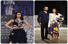 Lakme Fashion Week:  श्रद्धा कपूर बनी शो स्टॉपर, पति के...