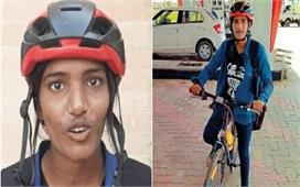 अपनों का प्यार: 216 KM साइकिल चलाकर दादा-दादी से मिलने...