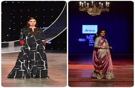 Lakme Fashion Week: रैम्प पर दिया मिर्जा ने बिखेरा जलवा,...