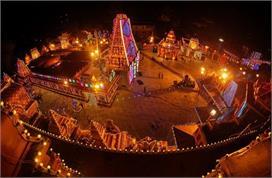 Navratri 2021: शारदीय नवरात्र के लिए सज गए मंदिर, पंडालों...