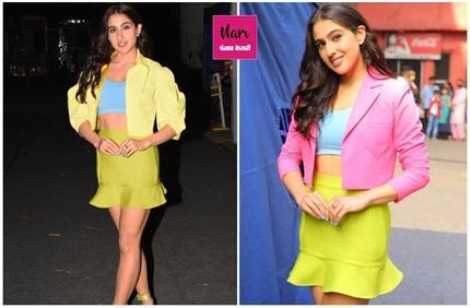 Fashion Trend! चर्चा में सारा की Crop Jacket, डिफरेंट अंदाज में करें...