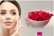 चेहरे की डलनेस 1 बार ही गायब कर देंगे गुलाब के ये फेस पैक