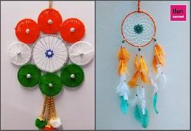 DIY Ideas: गणतंत्र दिवस पर इन वॉल हैंगिग से दें घर को...