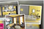 2021 में इंटीरियर में दिखेगा Grey-Yellow रंगों का जादू, देखिए तस्वीरें