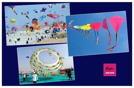 Kite Festival के लिए मशहूर है भारत के ये शहर, जहां दिखती है एक से...
