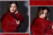 Month Of Love: रेड वेलवेट ड्रेस में दिखा हिना का बोल्ड व...