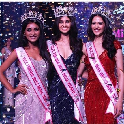 तेलंगाना की लड़की के सिर सजा Miss India 2020 का ताज, जानिए मानसा...