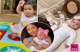 शिल्पा की लाडली हुई 1 साल की, एक्ट्रेस ने दिखाई जन्म से...