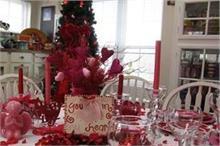 घर पर साथ सेलिब्रेट कर रहे हैं Valentine Day तो खास हो टेबल...