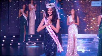 मानसा वाराणसी के सिर सजा मिस इंडिया-2020 का ताज, खुद को मानती हैं...