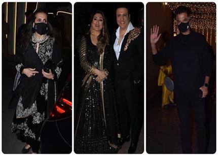 सुनीता कपूर का ब्लैक सूट या गोविंदा की मिसेज का लहंगा, किसके लुक ने...