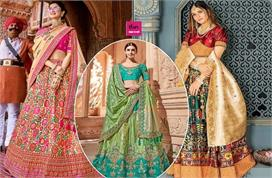Wedding Outfit! एवरग्रीन फैशन है बनारसी लहंगा, देखिए...