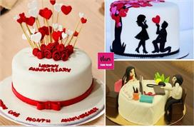 Wedding Anniversary Cake! पार्टनर को गिफ्ट करें ये खूबसूरत...