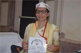 जज्बा! स्पेन की मारिया ने संस्कृत विश्वविद्यालय में किया...