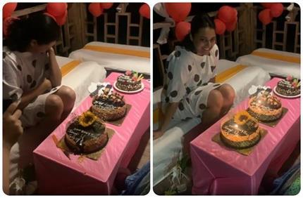 बर्थडे केक काटते ही फूट-फूटकर रोने लगे स्वरा भास्कर, वायरल हो रहा...