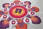 नवरात्रि स्पेशलः माता रानी के स्वागत में बनाएं खूबसूरत रंगोली (See...