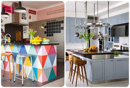किचन को करना चाहते हैं Renovate तो यहां से लें ढेरों Ideas