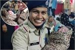 इस महिला पुलिस ने पेश की इंसानियत की मिसाल, मौत के मुंह से खींच ली...