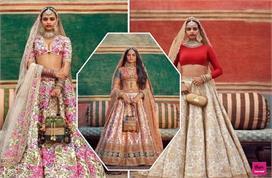 सब्यसाची के डिजाइनर लहंगे दुल्हन को देंगे Royal Look
