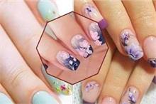 फ्लोरल Nail Art से बढ़ाएं हाथों की खूबसूरती, देखिए यूनिक...