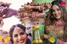 दुल्हनों को पसंद आ रहे  Floral कलीरे, यहां देखिए लेटेस्ट...