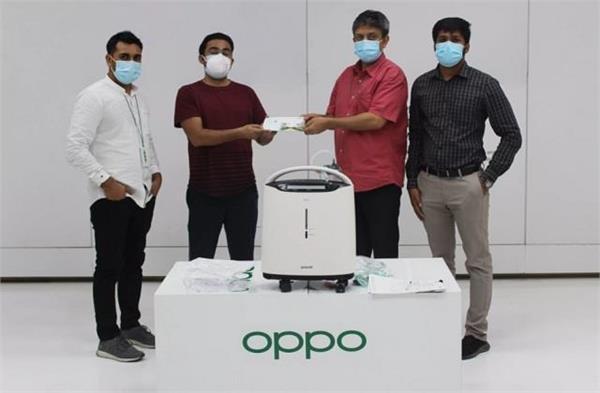 कोविड-19: उत्तर प्रदेश सरकार को ओप्पो इंडिया ने दिए 1000 ऑक्सीजन कंसन्ट्रेटर