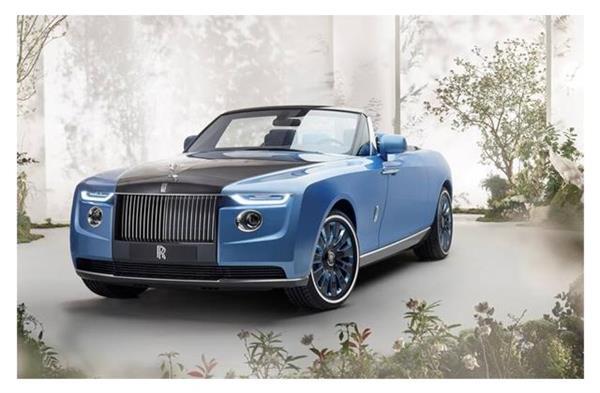 रोल्स-रॉयस ने लॉन्च की दुनिया की सबसे महंगी लग्जरी कार, कीमत 206 करोड़ रुपए