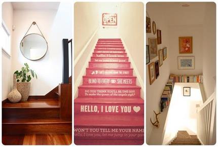 Stair Decor: सीढ़ियों को देना हैं न्यू लुक तो यूं करें डैकोरेशन