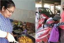 Helping hands! दो बहनें की अनोखी पहल, खुद खाना बनाकर कोरोना...