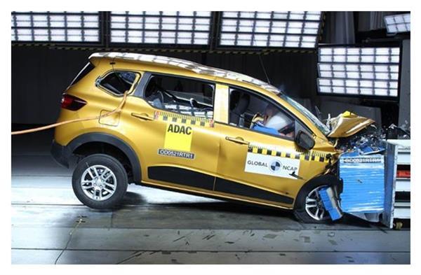 Global NCAP क्रैश टेस्ट में Renault Triber MPV को मिली 4-स्टार सेफ्टी रेटिंग