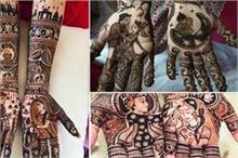 दुल्हनों में बढ़ा Portrait Mehndi का क्रेज, देखिए लेटेस्ट...