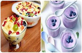 मीठे की क्रेविंग होने पर खाएं ये Healthy Desserts