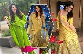 दीपिका कक्कर के एक से बढ़कर एक ट्रेडिशनल Outfits (See Pics)