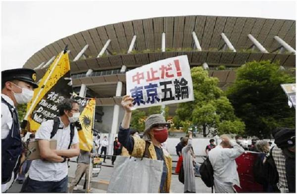 protest against olympic games