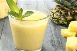 बच्चों के लिए मिनटों में बनाएं Pineapple Smoothie