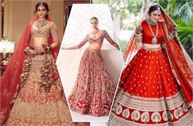 दुल्हनों में फिर बढ़ा Red Bridal लहंगे का क्रेज, देखिए...