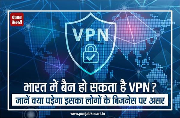भारत में बैन हो सकता है VPN? जानें क्या पड़ेगा इसका लोगों के बिजनेस पर असर