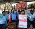 protests against railway management hungry 3 days will run trains loco pilot