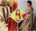 mohena kumari singh first look as a royal rajput bride