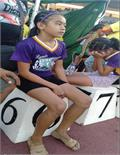 philippines 11 year athlete wins 3 gold medals in tape shoes