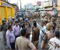 stress after stone pelting on ram barat in bareilly