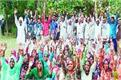 dabangs opened panchayat land and took possession