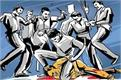 giridih villagers beat 4 people charges theft one killed 3 others injured