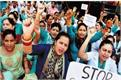 health workers on strike patients returned without treatment