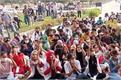 students raged against baba farid university management